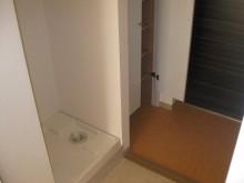 玄関ホール 室内洗濯機置場