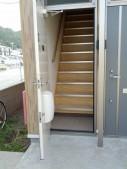 玄関 独立階段