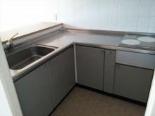 L型キッチン IH2口